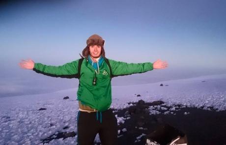 Mark At Kilimanjaro